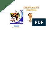 Calendario Mundial Sudafrica 2010 en Excel