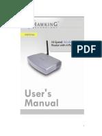 HWR54G Manual