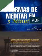 5 Formas Meditar 10 Minutos