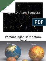 Topik10 Alam Semesta