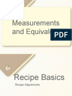 fs-measurements and equivalents