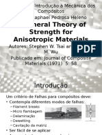 A General Theory of Strength for Anisotropic Materials