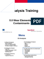5.0 Wear Elements & Contaminants