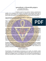 Aprendizaje y el desarrollo psiquico, Procesos de - May82 - Cecil A. Poole, F.R.C..pdf