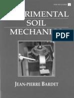 Bardet Experimental Soil Mechanics