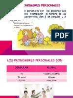 Los Pronombres Personales y Demostrativos
