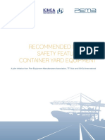 Recommended Minimum Safety Features for Container Yard Equipment