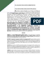 Solicitud Conciliacion Procuraduria