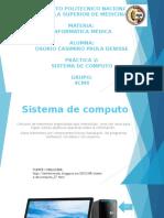 Informatica Medica - Sistemas de computo