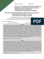 13. Benítez-rubiano & Arias-solano (2015) Caracterización Social y Económica Del Oficio Artesanal Zenú