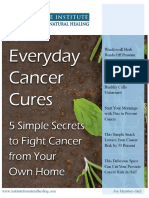 Everyday Cancer Cures