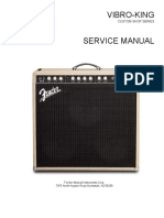 Fender Vibro King Manual