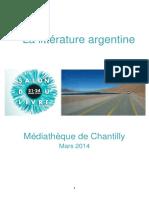 La Littérature Argentine