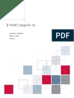PASW Categories 18