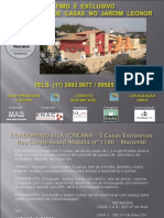 CASAS Vila Toscana_LANÇAMENTO.ppt