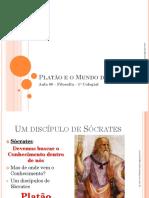 Aula 09 - Platão e o Mundo Das Ideias