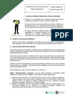 Descripción de rol y funciones del Mentor Empresarial