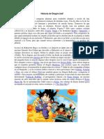 Dragon Ball Historia