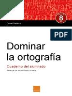 Dominar La Ortografia Cuaderno Alumno Muestra Esp