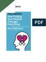Ken Robinson El Elemento Resumen