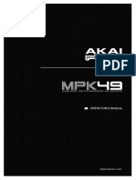 Mpk49 Reference Guide