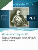 Power point La Conquista de Chile