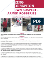 FBI searching for suspect after series of armed robberies in MD, VA, DC