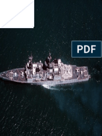 USS Chandler (DDG-996) From Above