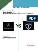 Advanced Corporate Finance Case Study 1