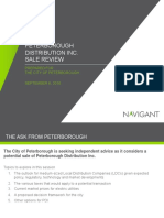 Navigant report on PDI sale