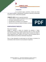 Ficha técnica Combate LDH01