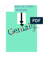 Manual de Como Manejar GENIALLY.