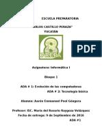 INFO1 ADA1 Y 2