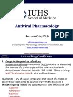 B2 Pharm Antiviral Pharmacologhgy 1-2 Crisp