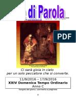 Sete di Parola - XXIV settimana C 2016.doc