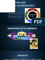 Marketing Mix Clase Demostrativa
