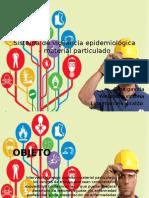 Sistema de Vigilancia Epidemiologica – Material Particulado