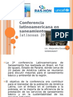 Conferencia LATINOSAN