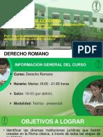 Presentación Curso Romano I 2016-I (1)