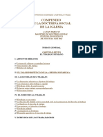 Indice de Temas de Doctrina Social 2016