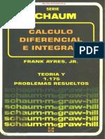 (Matemáticas Schaum) Calculo Diferencial e Integral - Schaum