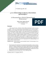 Es la fenomenología un tipo de reduccionismo epistemológico.pdf