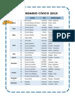 Calendario Cívico 2015-Gina