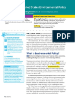 2 2 u s  environmental policy
