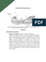 Cortes Geologicos #18 y #20
