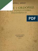 Ardao - Batlle y Ordonez