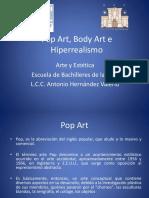 16 Arte Contemporáneo Body Art, Pop Art,
