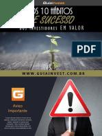 eBook 5 - 10 Habitos de Sucesso Dos Investidores Em Valor