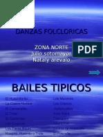 bailes tipicos zona norte de Chile