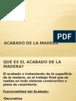 TP Acabado de La Madera